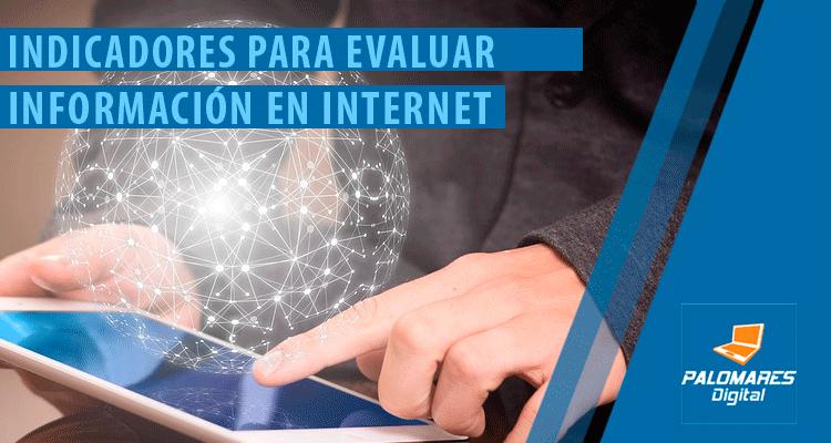 Evaluar Información en Internet